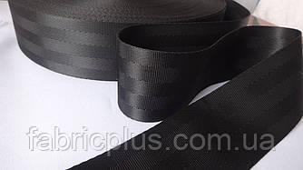 Стропа  ременная  фирменная  (5 см) черная