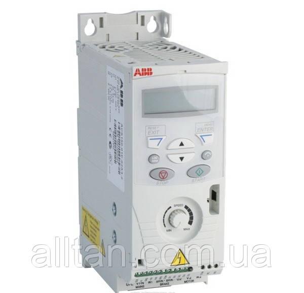 Частотный Преобразователь ABB ACS150 0,37 кВт 1ф - Осевые Вентиляторы, Тепловентиляторы Водяные, Осушитель воздуха, Теплогенераторы, Volcano VR в Киеве