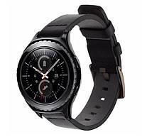 Кожаный ремешок Primo Classic для часов Samsung Gear S2 Classic (SM-R732 / SM-R735) - Black