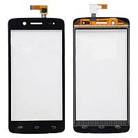 Оригинальный Prestigio MultiPhone PAP5507 Duo black тачскрин, сенсор, cенсорное стекло