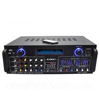 Усилитель мощности звука AMP AV 1800 4 канала 600ват