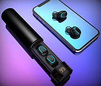 Беспроводные наушники с зарядным футляром Air Pro TWS блютус 5.0, фото 1