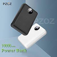 Power bank (Внешний аккумулятор) PZOZ 10000mAh c Dual USB и OLED дисплеем HM007