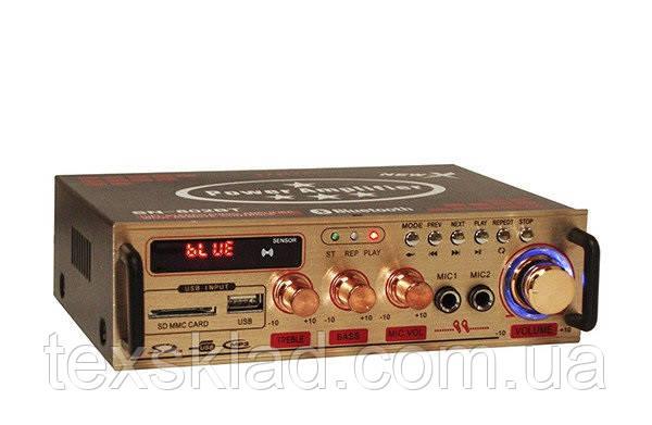 Підсилювач потужності UKC AMP-802BT