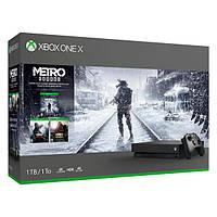Ігрова приставка Microsoft Xbox One X 1Tb Metro Saga Bundle (CYV-00279)