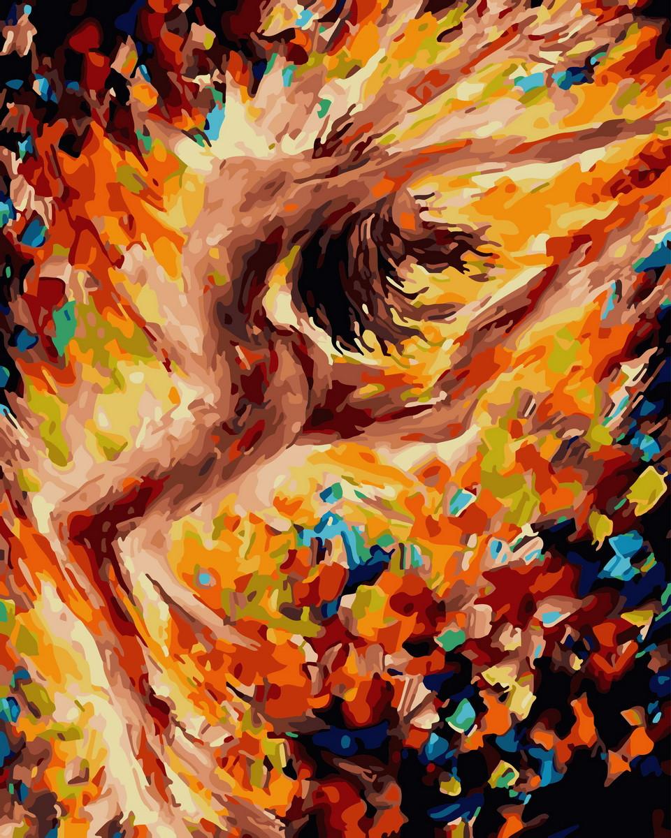 Картина по Номерам 40x50 см. Танец страсти Rainbow Art