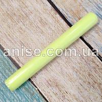 Полимерная глина Пластишка, №0202 лимонный флуоресцентный, 17 г / Полімерна глина Пластішка, №0202 лимонний
