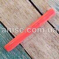 Полимерная глина Пластишка, №0203 оранжевый флуоресцентный, 17 г / Полімерна глина Пластішка, №0203 оранжевий
