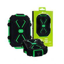 Внешний аккумулятор Power Bank Allison A4 10000mAh зеленый
