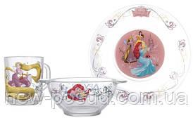 Столовый сервиз детский ОСЗ Disney Принцессы Н.1914;1335;9944ДЗ Принц.