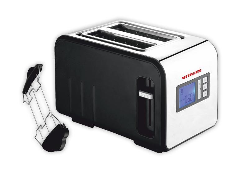 Тостер VITALEX VT-5017 Серебристый