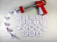 Шприц-пистолет кондитерский для печенья и крема, фото 1