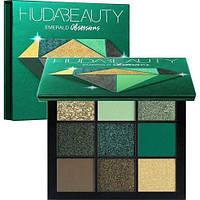 Huda beauty нюдовая палетка тени для век