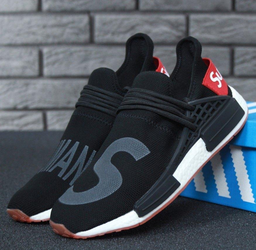 various colors 6a967 82bdc Мужские кроссовки Adidas Supreme Human Race NMD Black