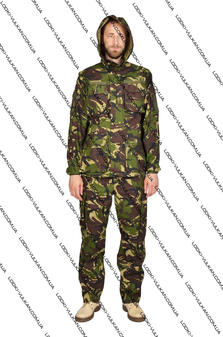 Камуфляжный военный костюм Британия рип стоп
