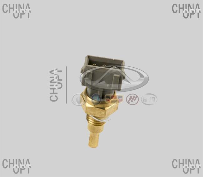 Датчик температуры охлаждающей жидкости, 3 контакта, Chery Karry [A18,1.6], A11-3808030, Aftermarket