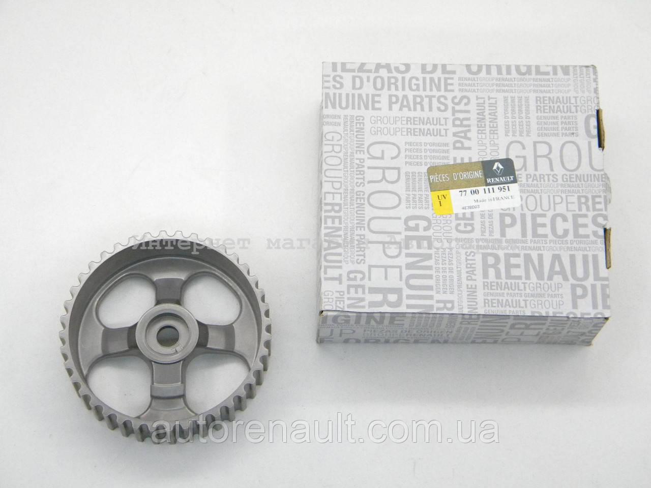 Шкив (шестерня) распредвала на Рено Трафик 01-> 1.9dCi — Renault (Оригинал) - 7700111951, фото 1