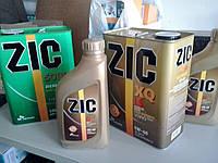 Моторное масло Zic XQ LS 5W-40 (Канистра 1литр) низкозольное (бензин + дизель)