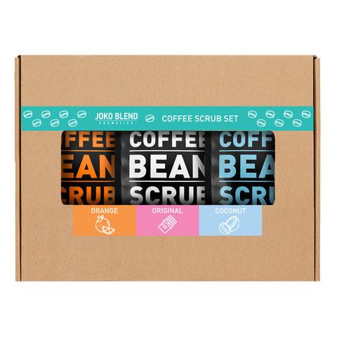 Кофейный  Набор скраб Coffee Body Scrub Joko Blend Set of 3 х50 гр