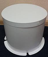 Коробка для тортов белая 250х195 мм