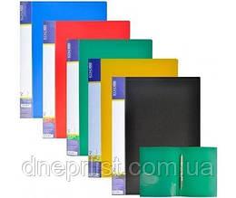 Папка-скоросшиватель с карманом А4, 2 см, Economix CLIP A Light,