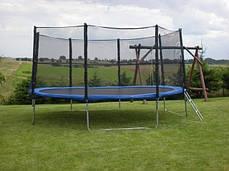 Батуты 427 см с защитной сеткой, фото 2