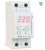 Реле контроля напряжения D2-40 red с термозащитой