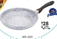 Сковорода Benson с антипригарным гранитным покрытием 28см