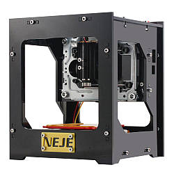 Портативный лазерный гравер NEJE DK-8-KZ 1000mW USB, с защитными очками