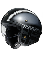 Мотошлем Shoei JO Hawker (чёрный)