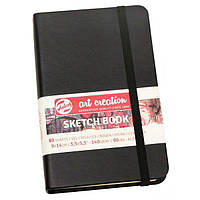 Блокнот для графики Art Creation  9х14 см, 160г/м, 80л, черний