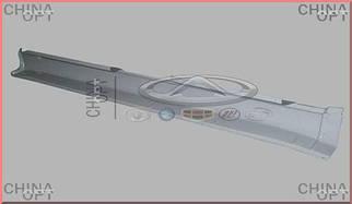 Порог наружный, металлический, правый, Chery Amulet [1.6,до 2010г.], A11-5400202-DY, Aftermarket