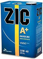 Масло моторное Zic A+ 10W-40 (Канистра 6литров) для бензиновых двигателей, фото 1