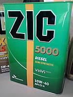 Моторное масло Zic 5000 Diesel 10W-40 (Канистра 6литров), фото 1