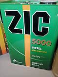 Моторное масло Zic 5000 Diesel 10W-40 (Канистра 6литров), фото 4