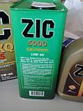 Моторное масло Zic 5000 Diesel 10W-40 (Канистра 6литров), фото 5