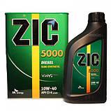 Моторное масло Zic 5000 Diesel 10W-40 (Канистра 6литров), фото 6
