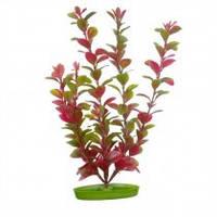Растение пластиковое Red Ludwigia Hagen Marina (Людвигия красная) 20см