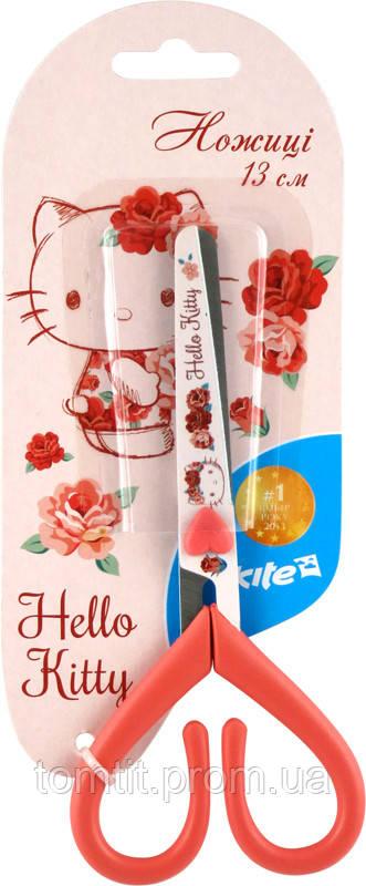 """Ножницы """"Hello Kitty"""" с рисунком на лезвии, 13 см"""