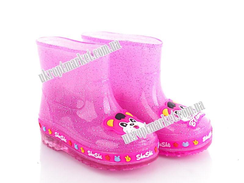 """Сапоги детские 689 pink  б.ут (5 пар р.28-32) """"Class Shoes"""" 2P/SL-3421"""