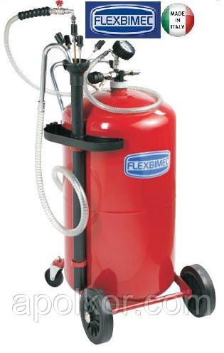 Установка для вакуумного сбора отработанного масла 80 л. Flexbimec 3080