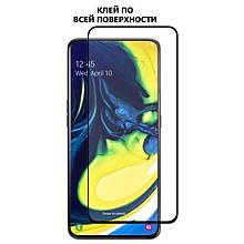 Защитное стекло OP 5D Full Glue для Samsung A805 A80 черный