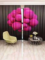 Фотоштора Walldeco Рожеві бульбашки (20855_1_3)