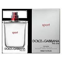 Мужская туалетная вода dolce & gabbana the one sport men - освежающий, активный аромат! (копия)