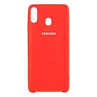 Накладка для Samsung Galaxy M205 M20 силікон Original Soft Case Червоний