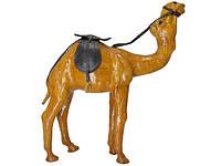 Статуэтка Labyritn Кожаные животные средние: верблюд стоящий (кж-64)