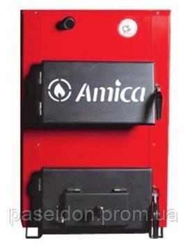 Котел стальной твердотопливный Amica Optima 18