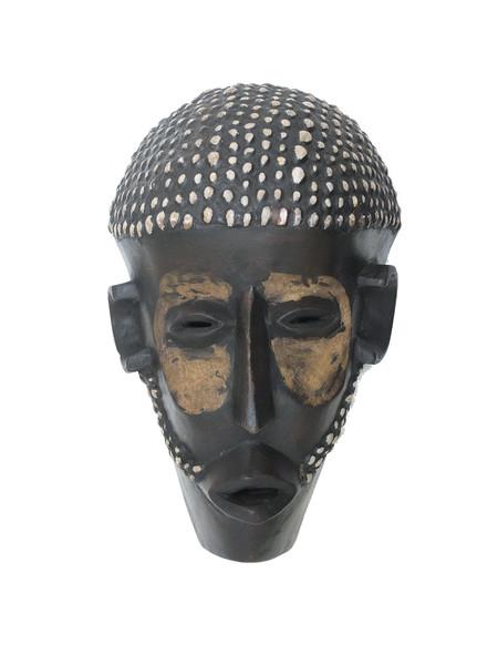 Декоративная композиция  Labyritn  Маска африканская ритуальная, племя Маконда, дерево цейба (мэ-24-