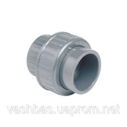 EFFAST Муфта разборная c уплотнением EPDM EFFAST d25 мм (RDRBOD0250)