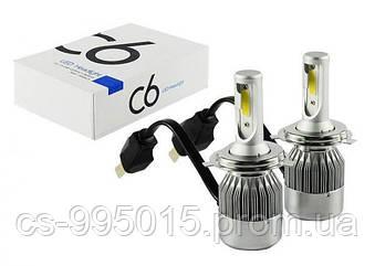 Светодиодные автомобильные LEDлампы C6H4 ближний/дальний 12-24В